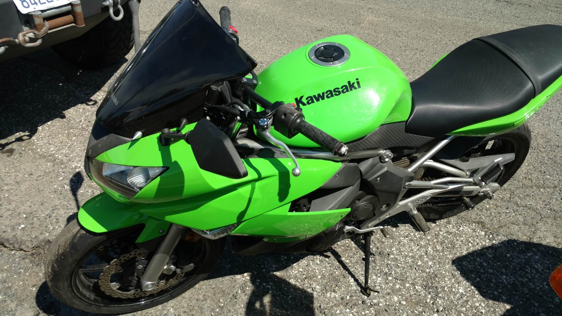2009 Kawasaki Ninja® 650R in Auburn, California
