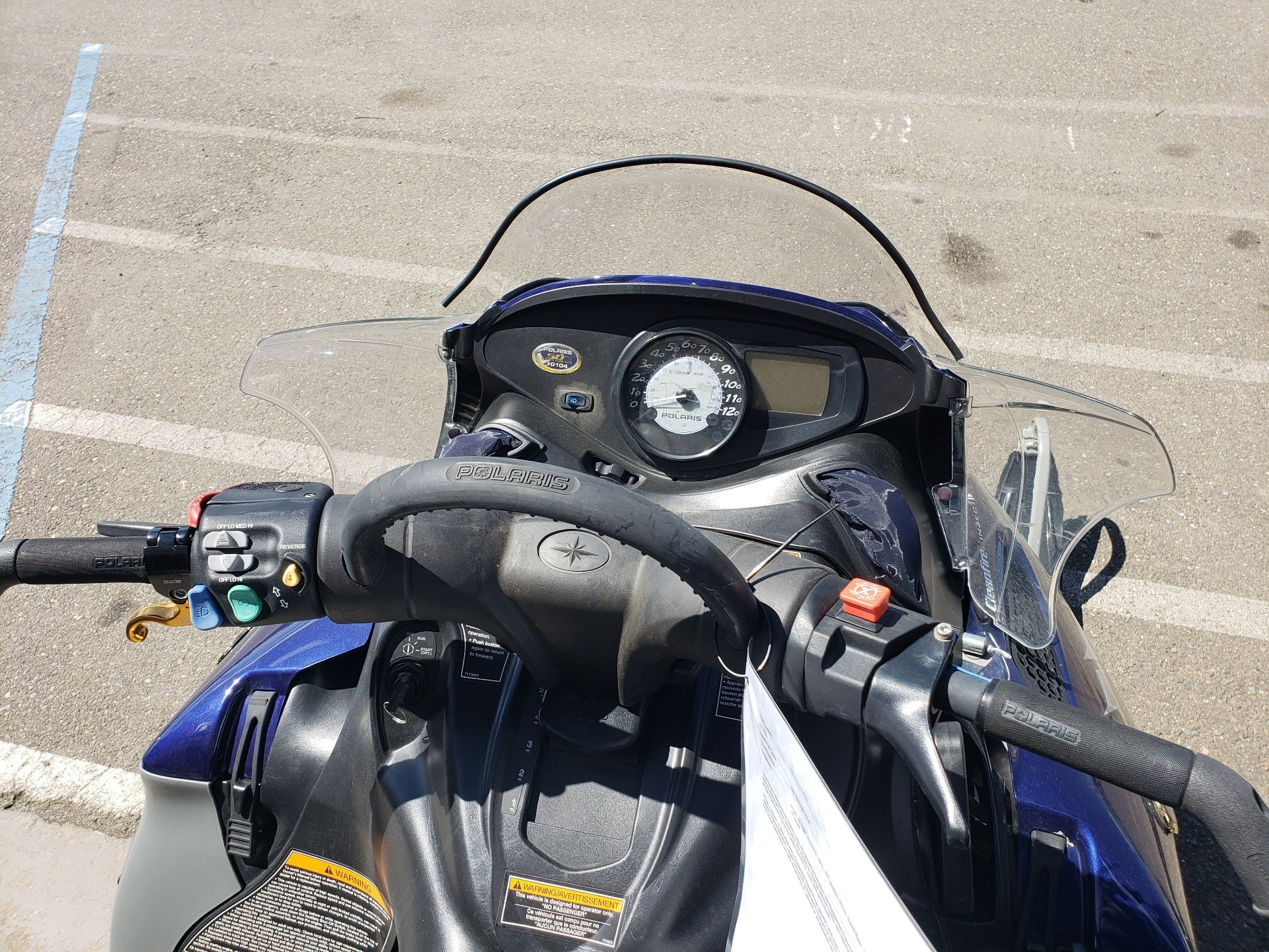 2005 Polaris 900 RMK 166 50th Anniversary Edition in Auburn, California - Photo 7