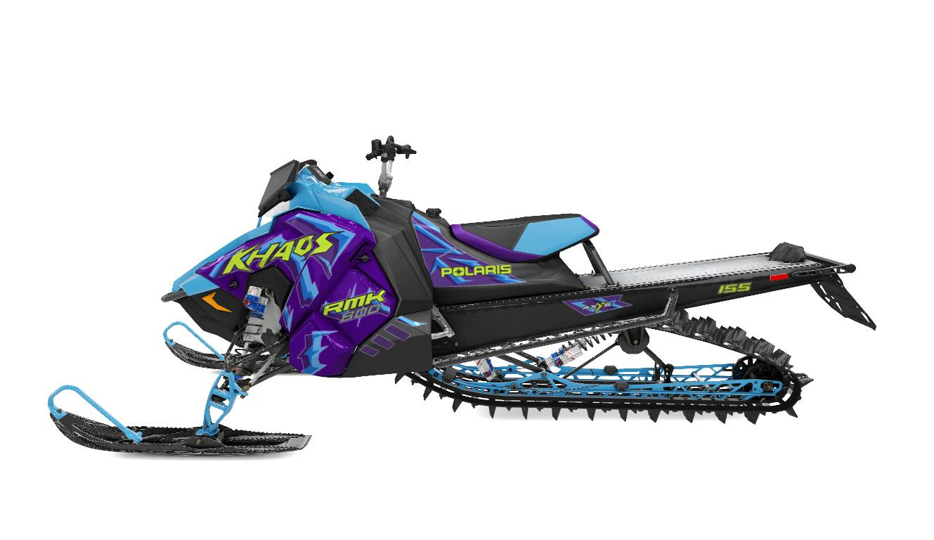 2020 Polaris 800 RMK Khaos 155 SC in Auburn, California