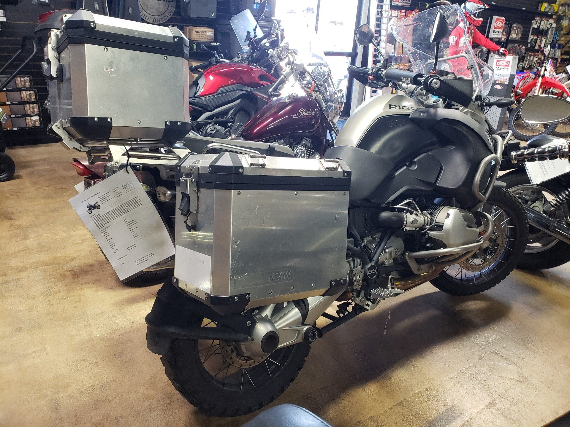 2009 BMW R 1200 GS Adventure in Auburn, California - Photo 2