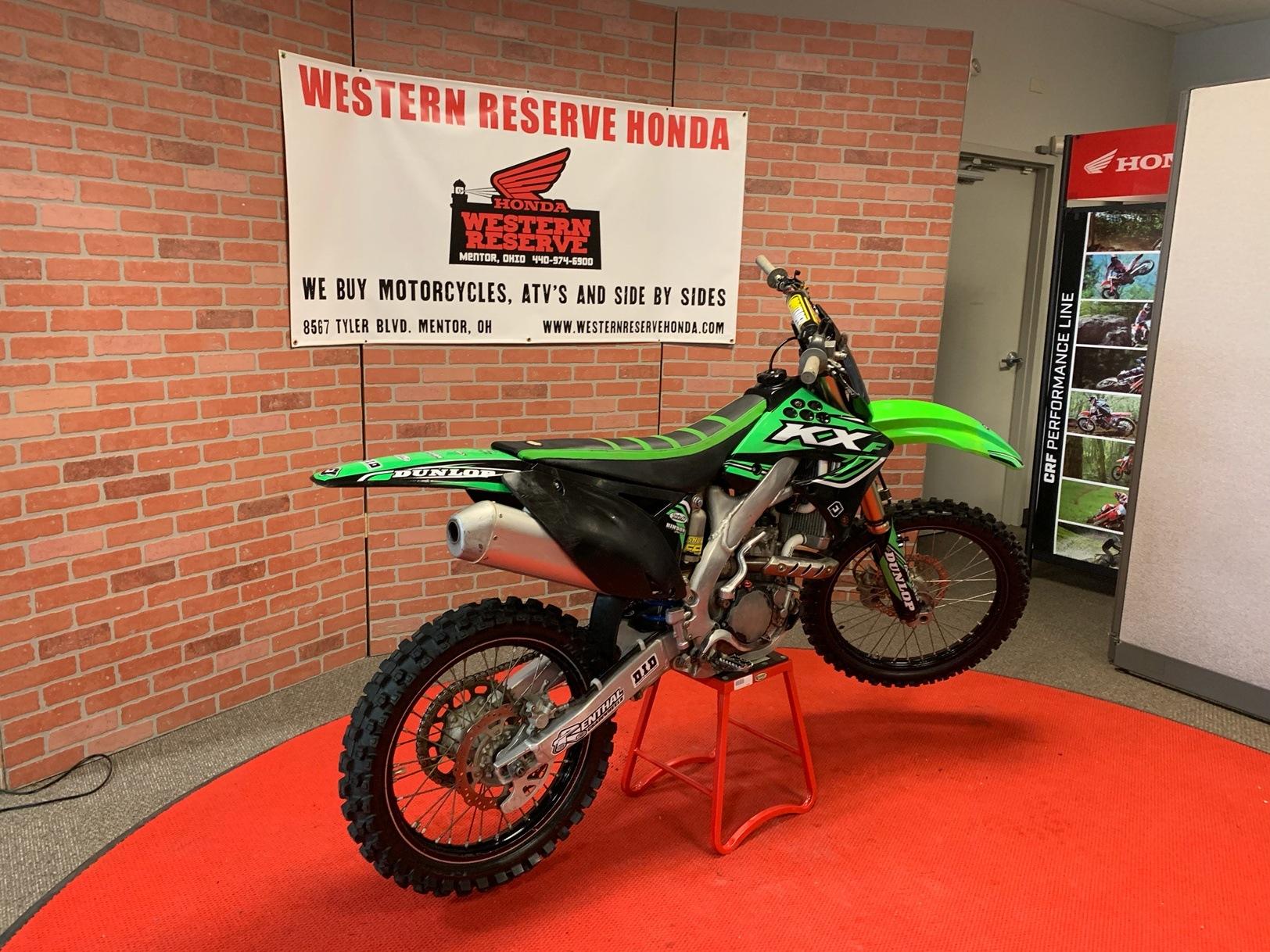 2012 Kawasaki KX250F 3