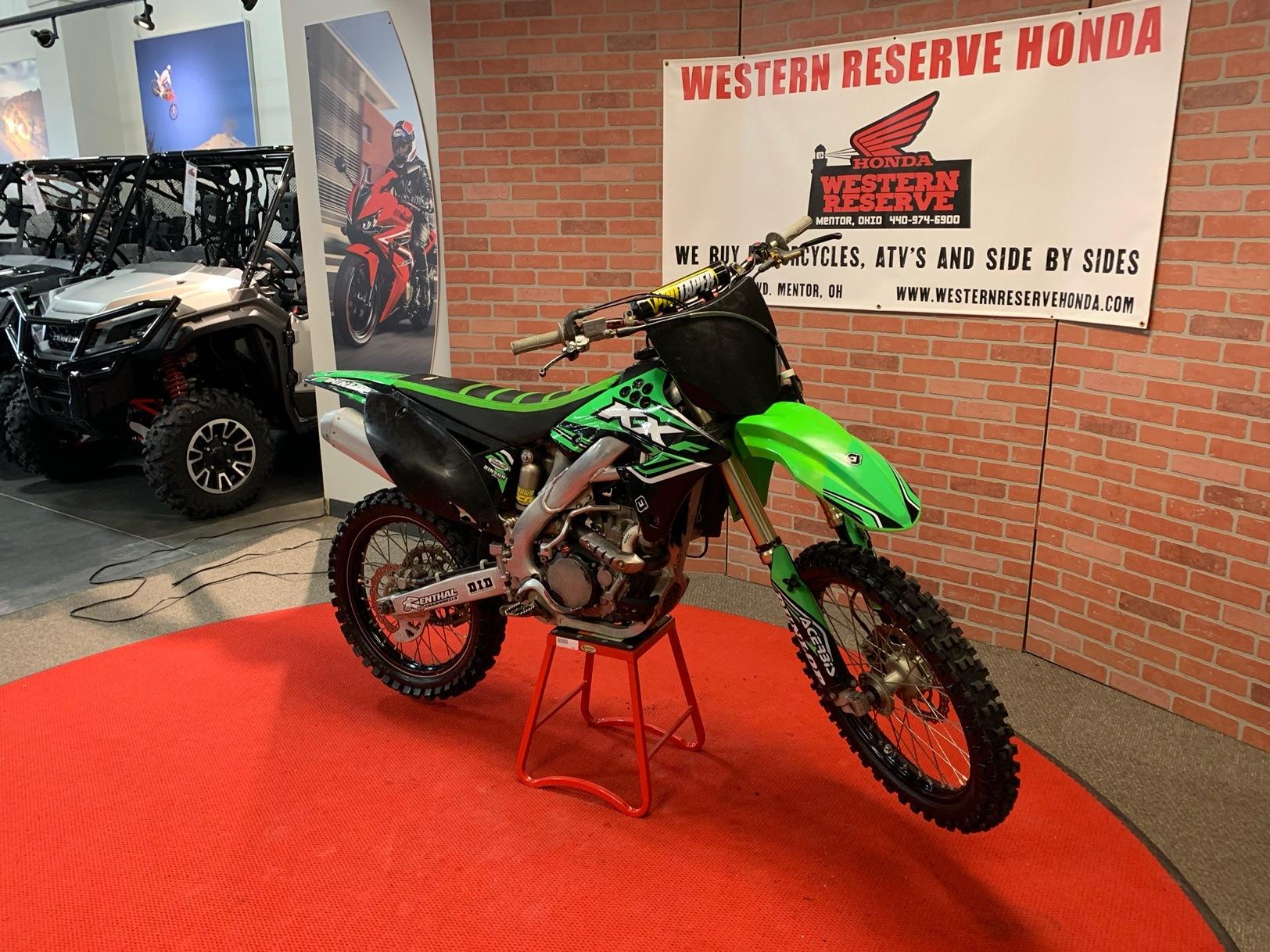 2012 Kawasaki KX250F 4
