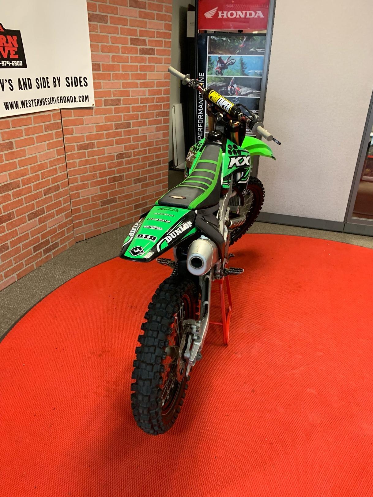 2012 Kawasaki KX250F 6