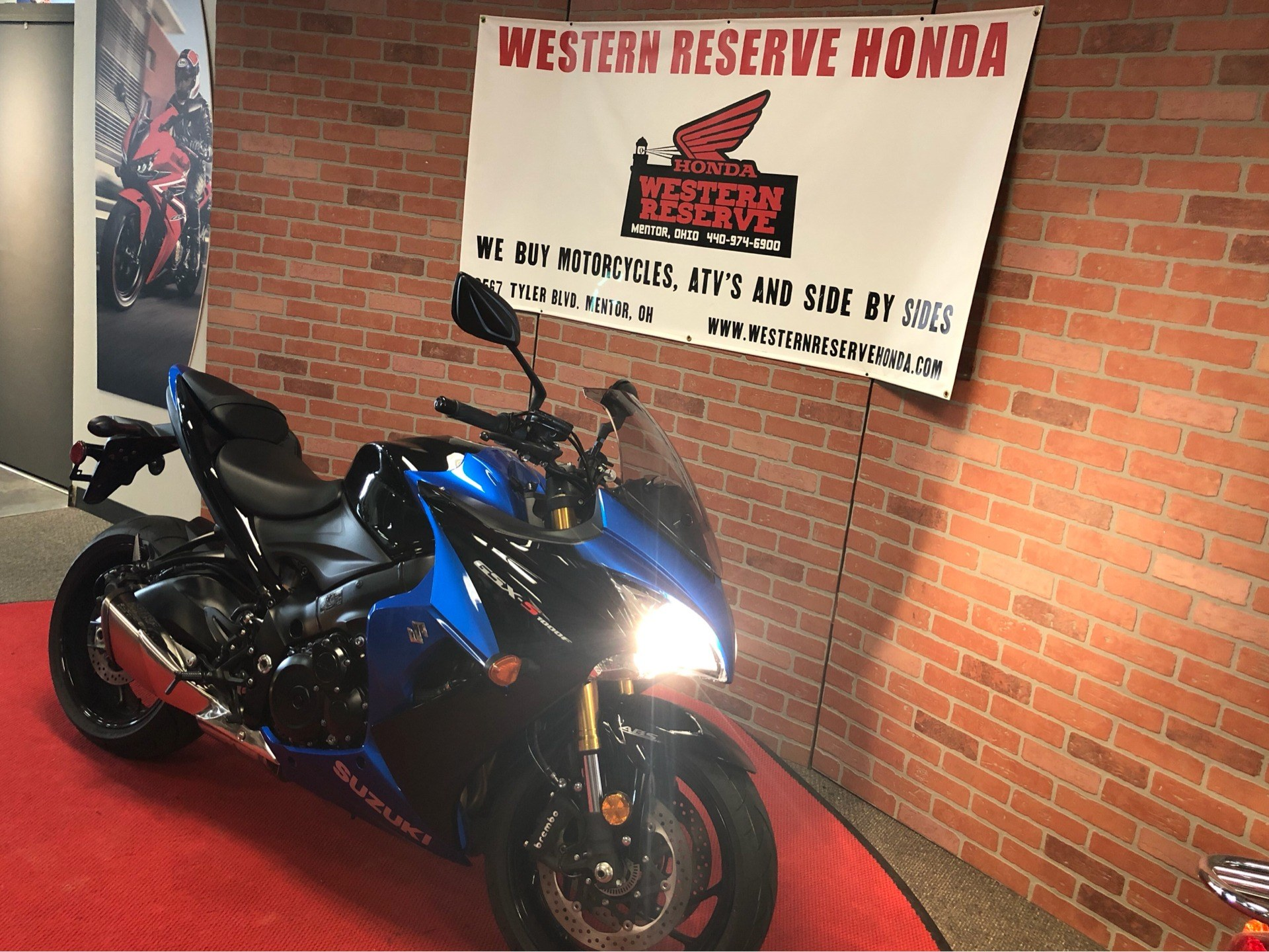 2018 Suzuki GSX-S1000F ABS in Mentor, Ohio - Photo 4