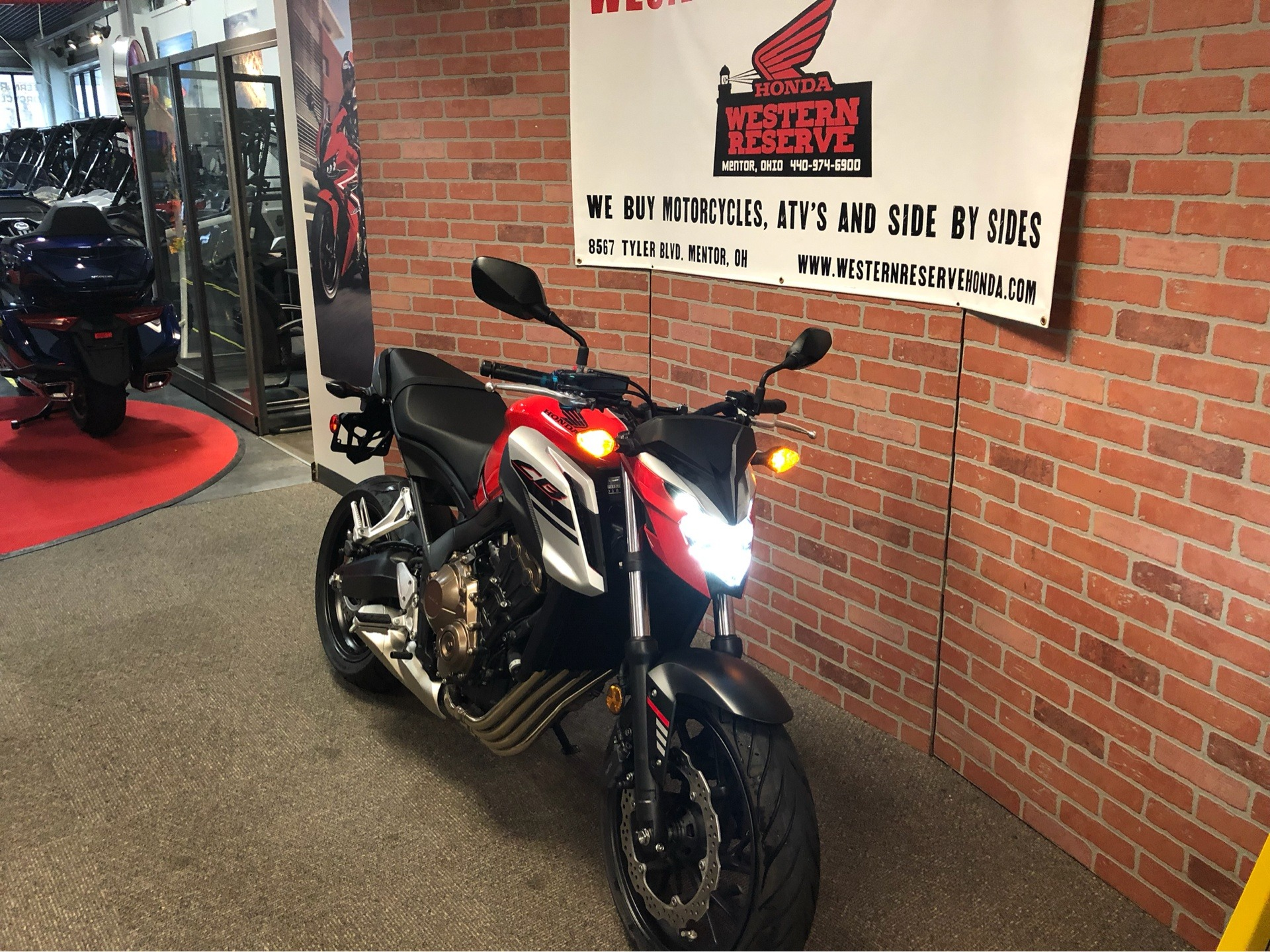 2018 Honda CB650F in Mentor, Ohio - Photo 2