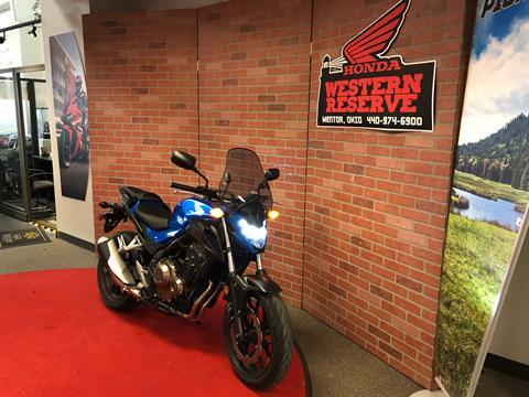 2018 Honda CB500F in Mentor, Ohio - Photo 2