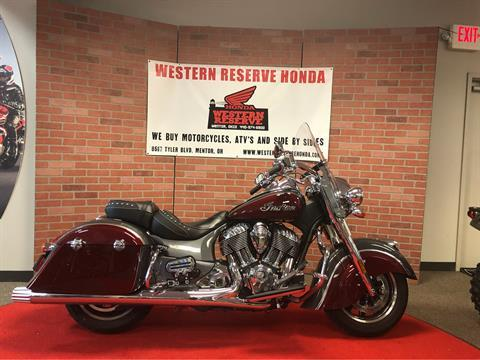 2017 Indian Springfield® in Mentor, Ohio