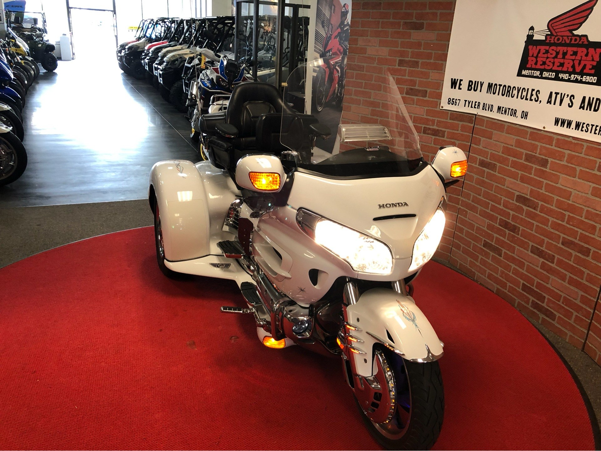 2006 Honda Gold Wing® Airbag in Mentor, Ohio - Photo 2