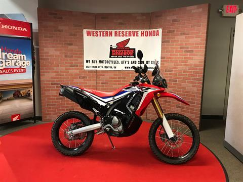 2017 Honda CRF250L Rally in Mentor, Ohio