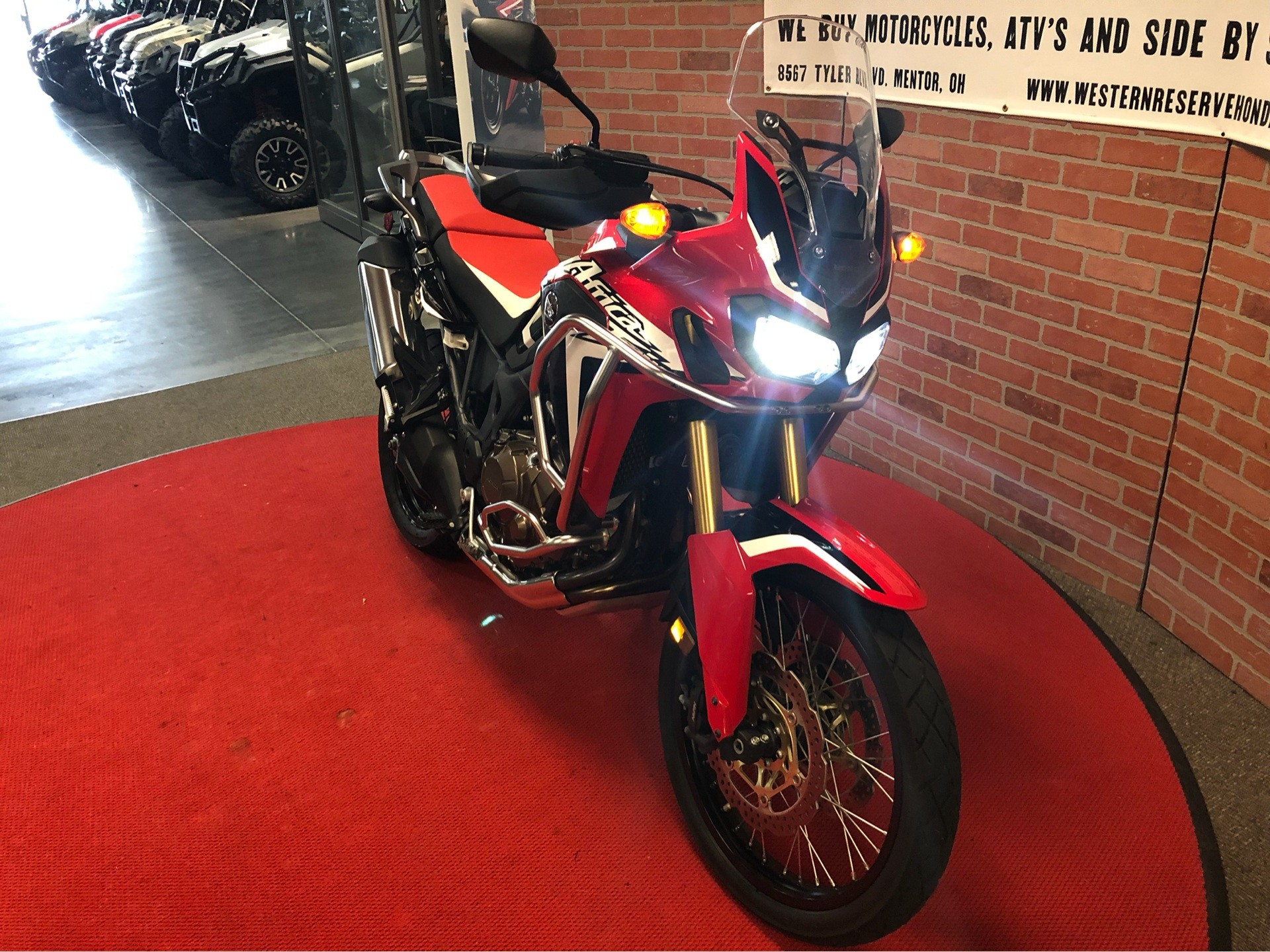 2017 Honda Africa Twin in Mentor, Ohio - Photo 2