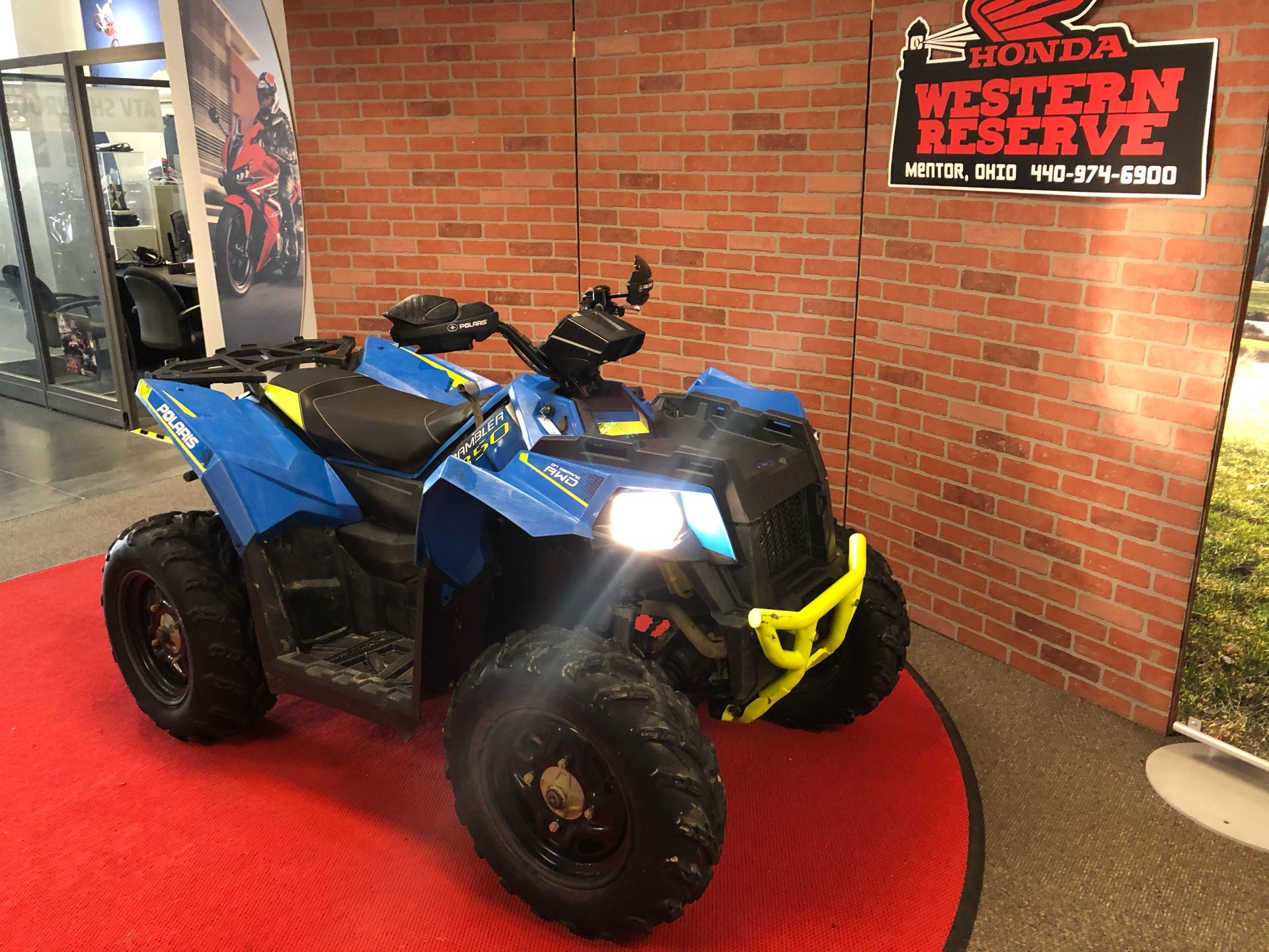 2018 Polaris Scrambler 850 in Mentor, Ohio - Photo 1