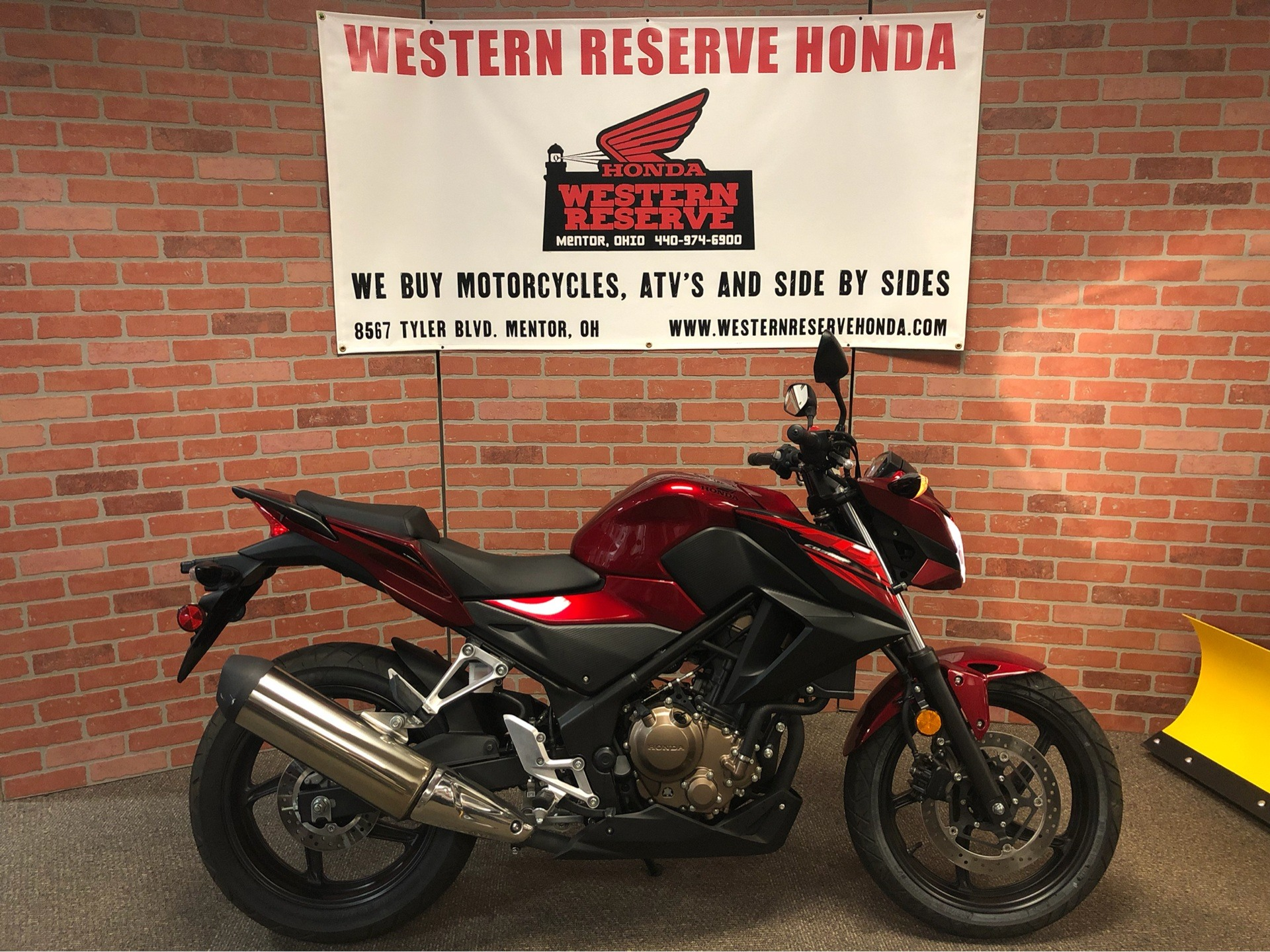 2018 Honda CB300F in Mentor, Ohio - Photo 1