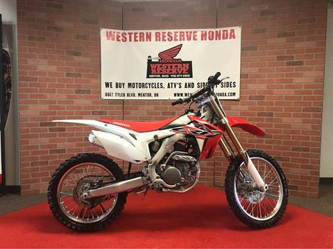 2016 Honda CRF250R in Mentor, Ohio