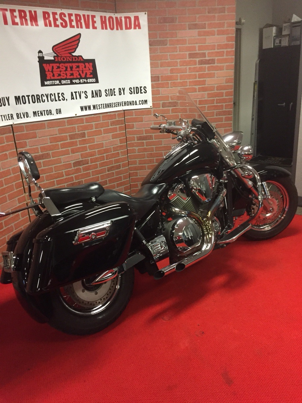 2003 Honda VTX Retro 1800 Spoke in Mentor, Ohio