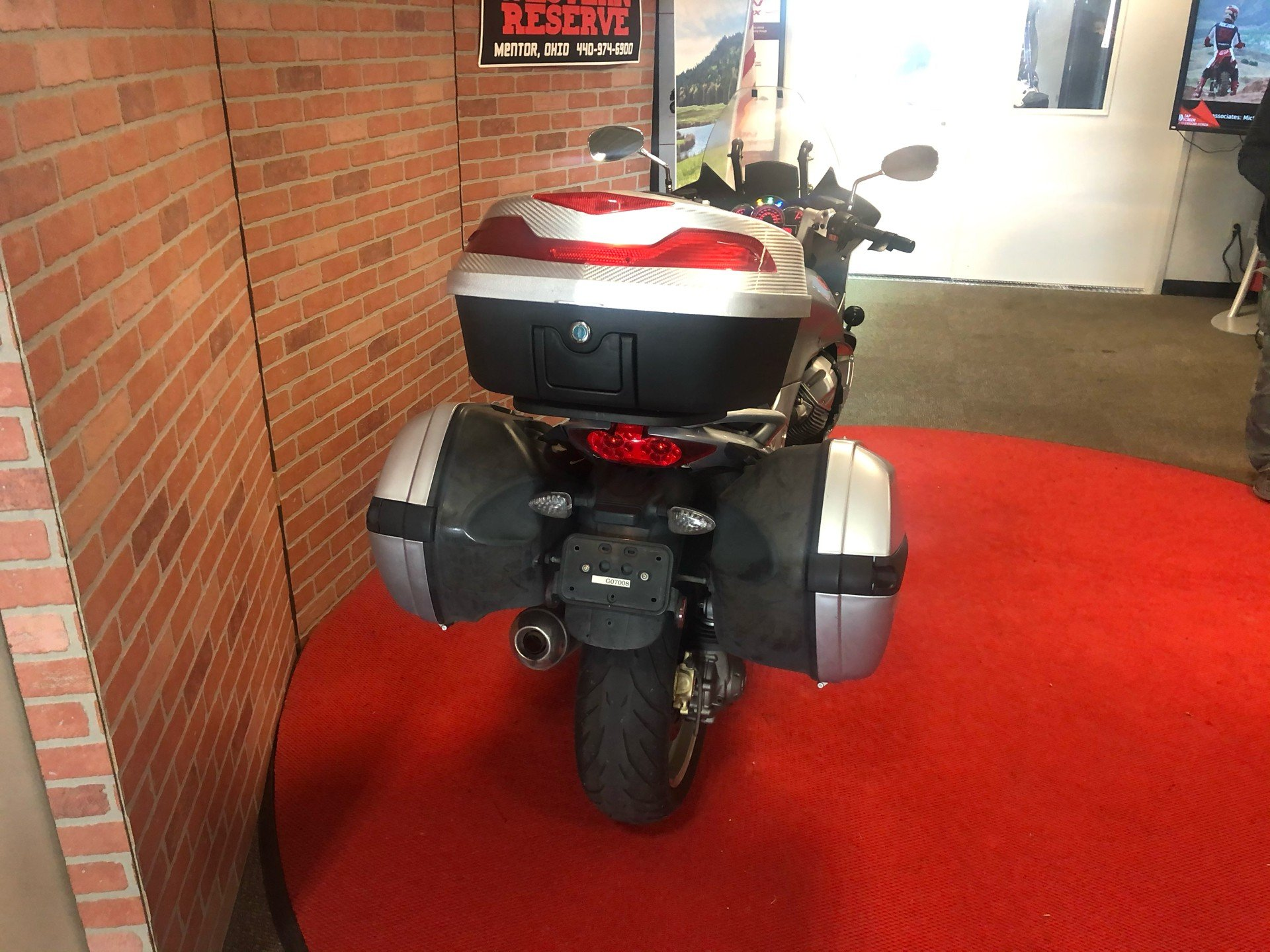 2007 Moto Guzzi Norge 1200 in Mentor, Ohio - Photo 3