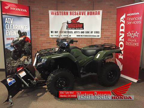 2017 Honda FourTrax Rancher 4x4 DCT IRS in Mentor, Ohio