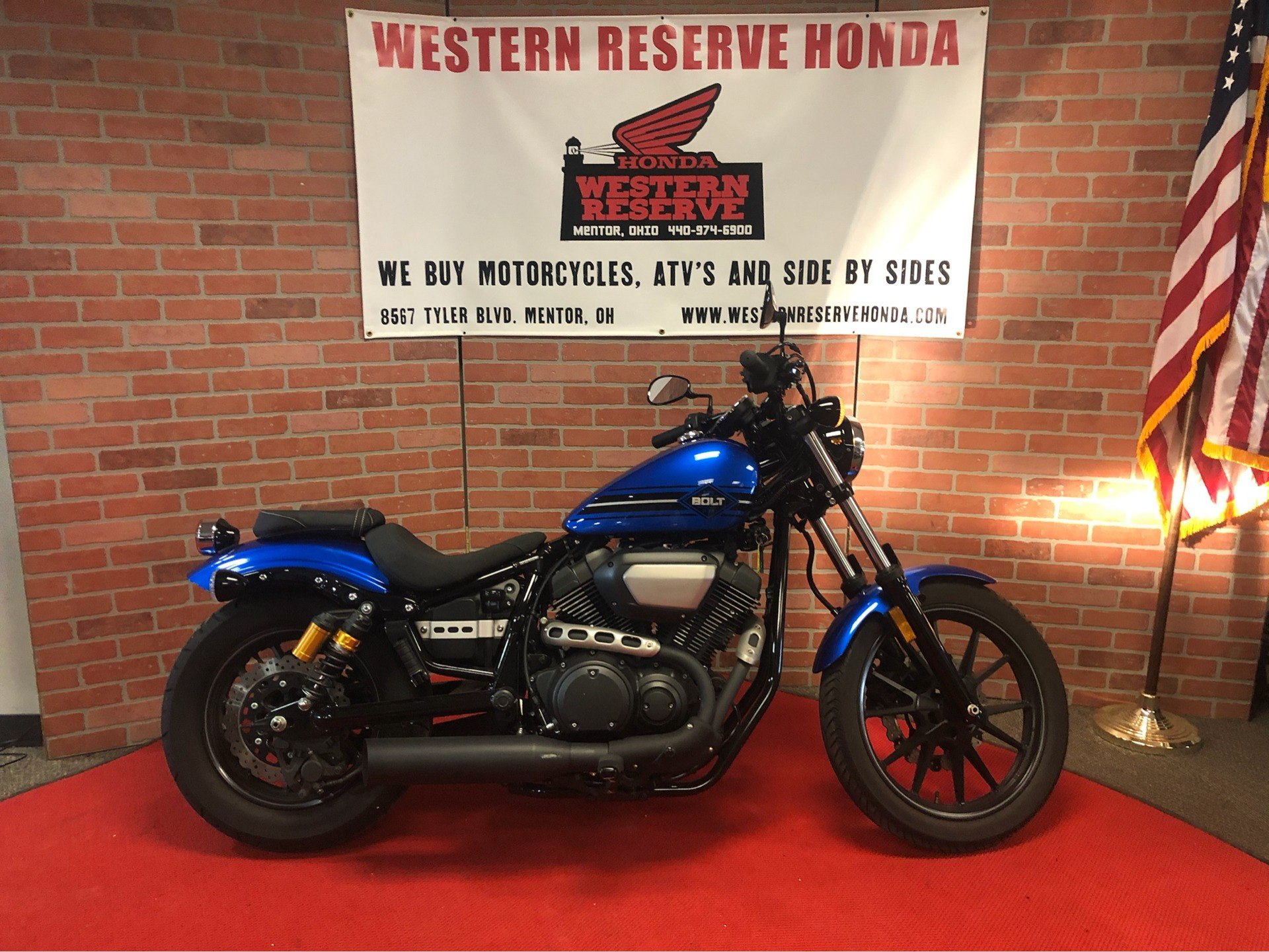 2018 Yamaha Bolt R-Spec in Mentor, Ohio - Photo 1