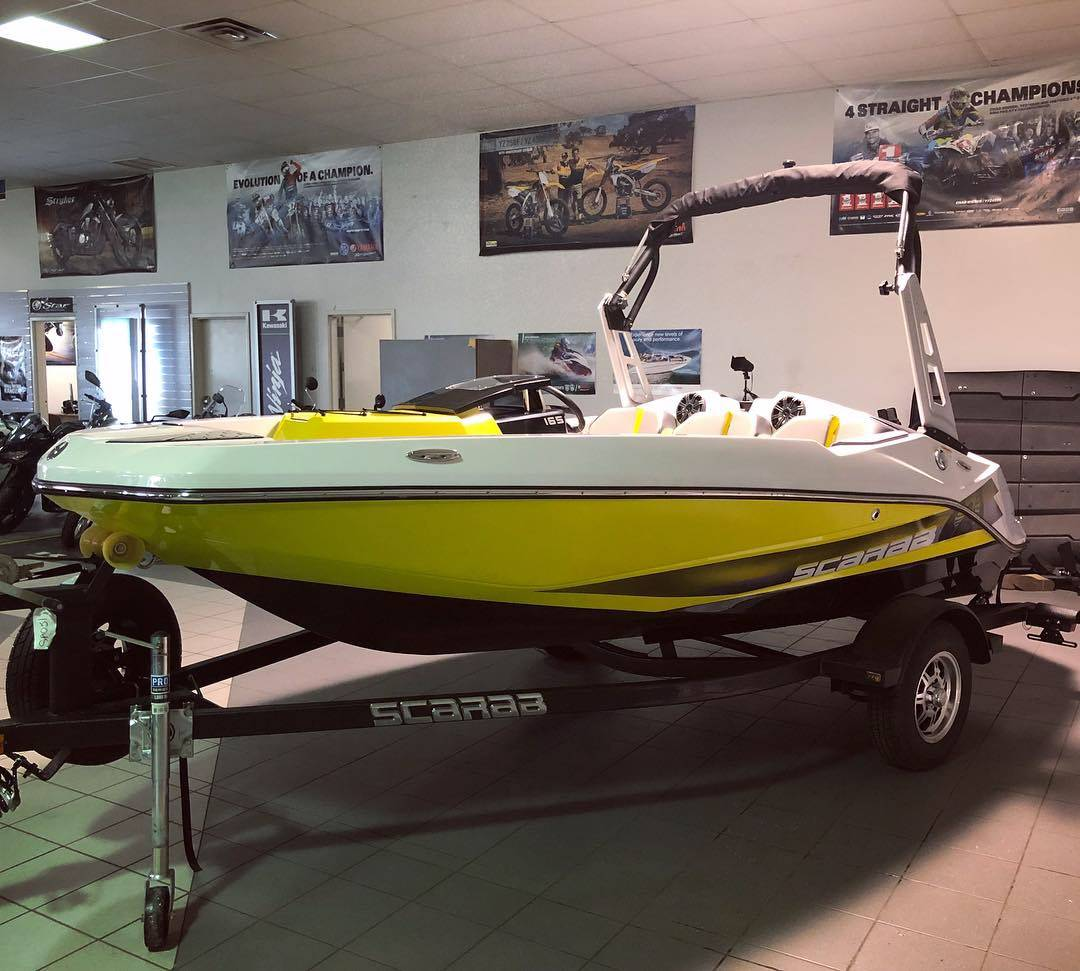 2018 Scarab 165 G in Kenner, Louisiana - Photo 8