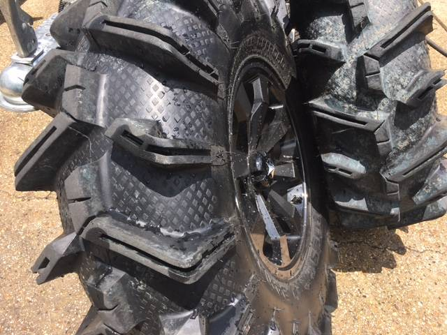 "2017 Other 34"" MOTOBOSS TIRES ON 16"" MSA WHEELS in Kenner, Louisiana"