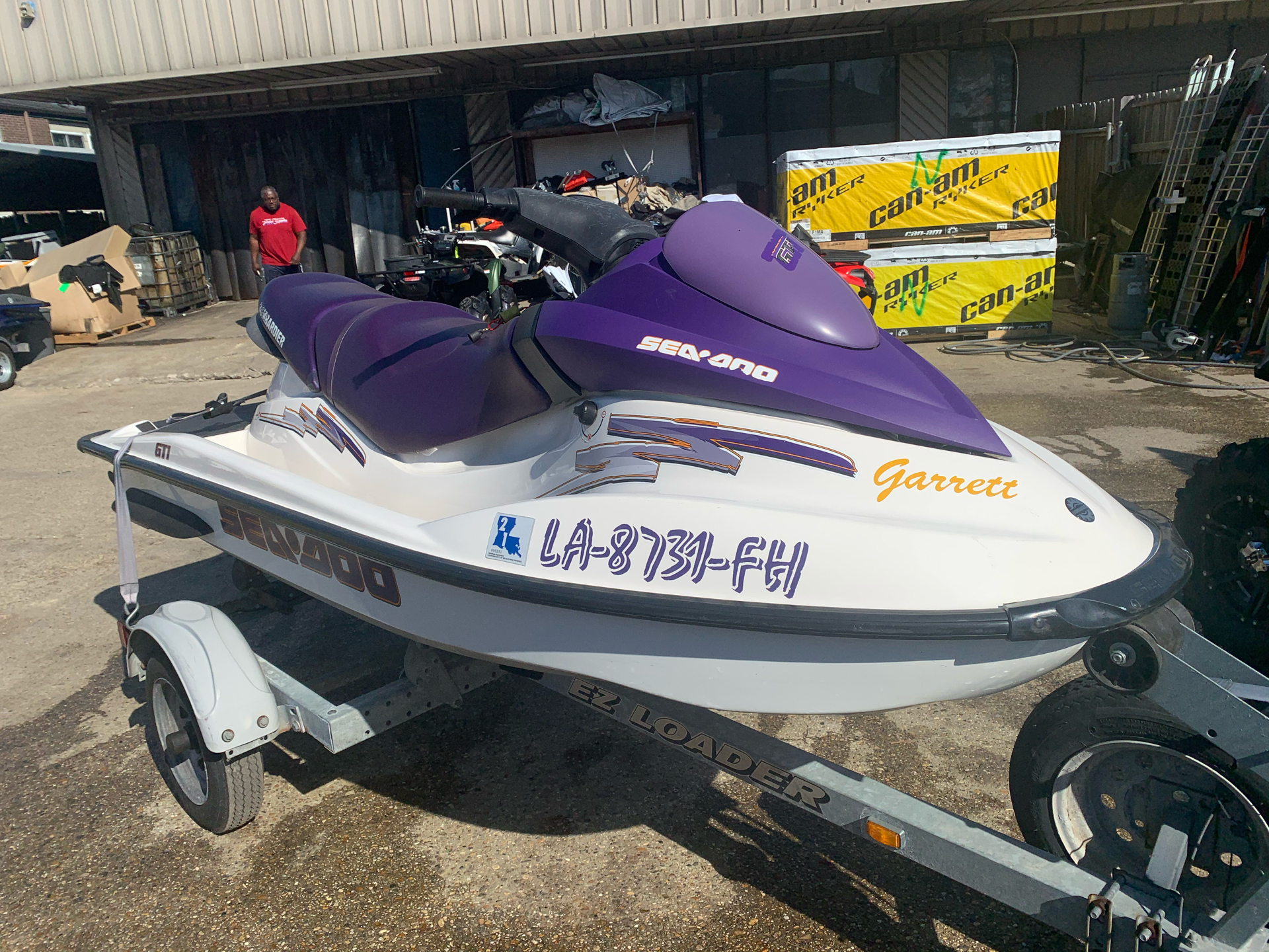 2003 Sea-Doo GTI in Kenner, Louisiana - Photo 3
