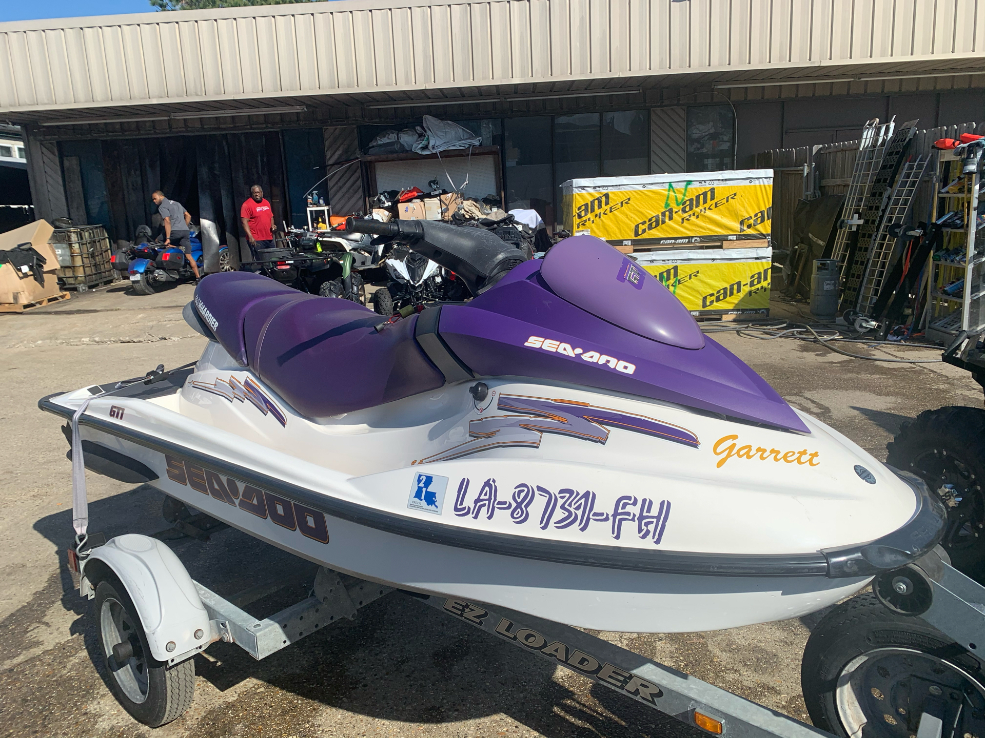 2003 Sea-Doo GTI in Kenner, Louisiana - Photo 4