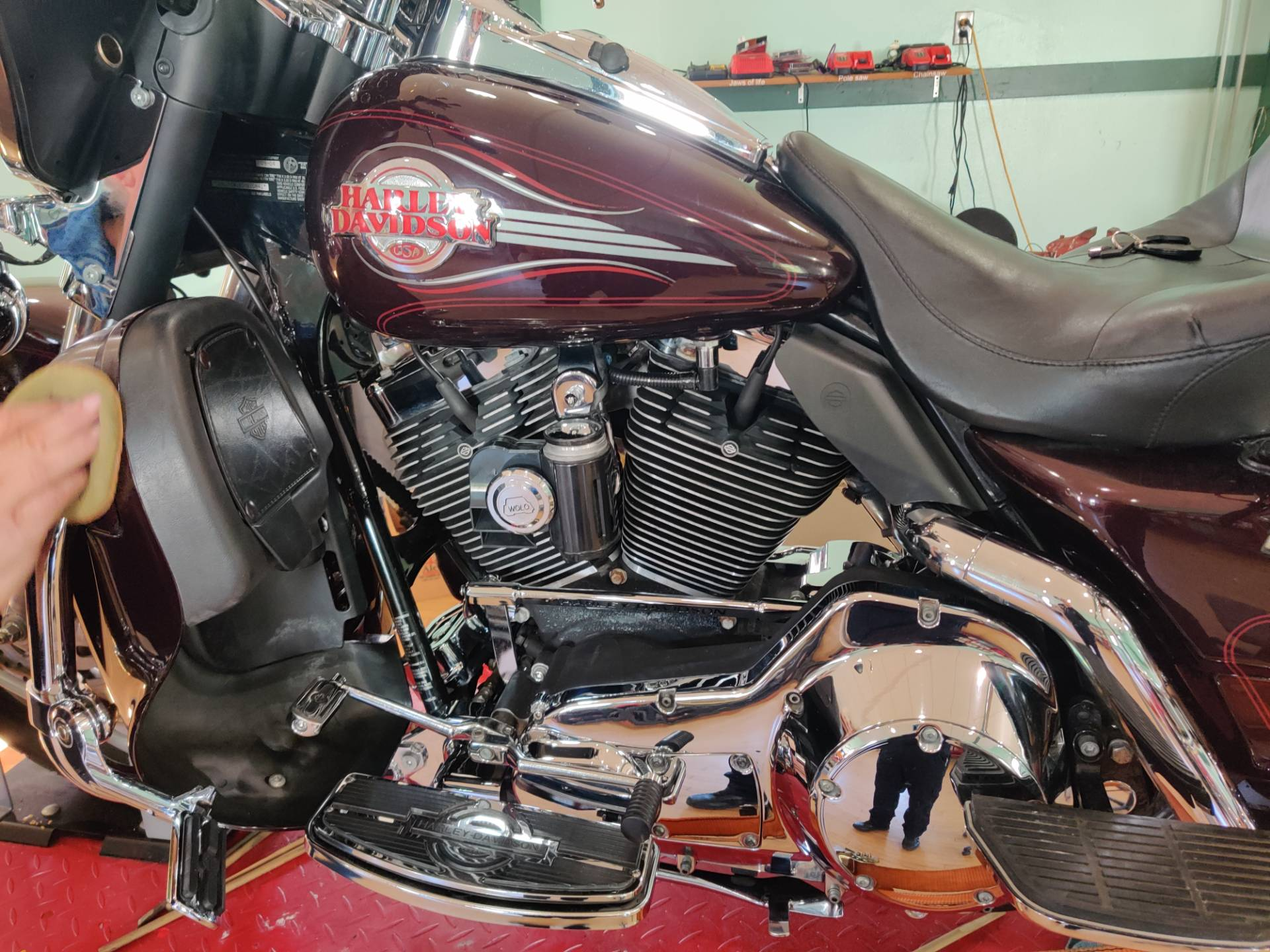2005 Harley-Davidson Ultra Classic Shriners Edition in Forty Fort, Pennsylvania - Photo 9