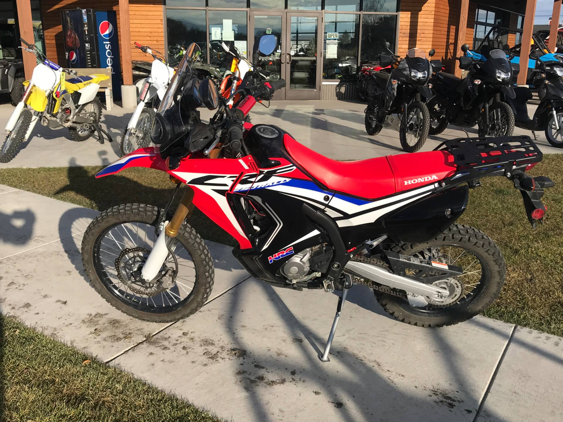 2017 Honda CRF250L Rally in Bozeman, Montana - Photo 2