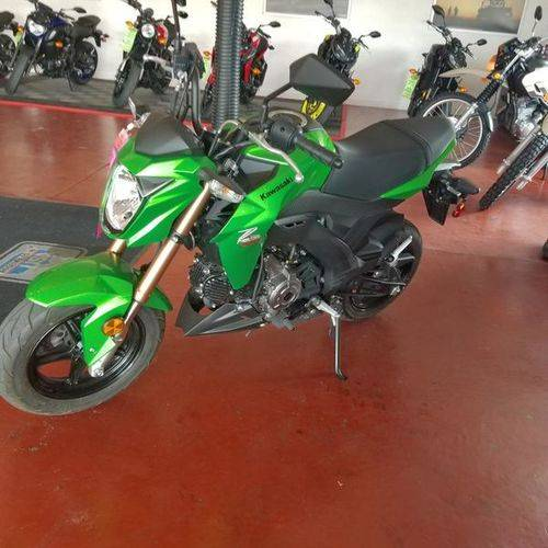 2017 Kawasaki Z125 Pro in Riverdale, Utah