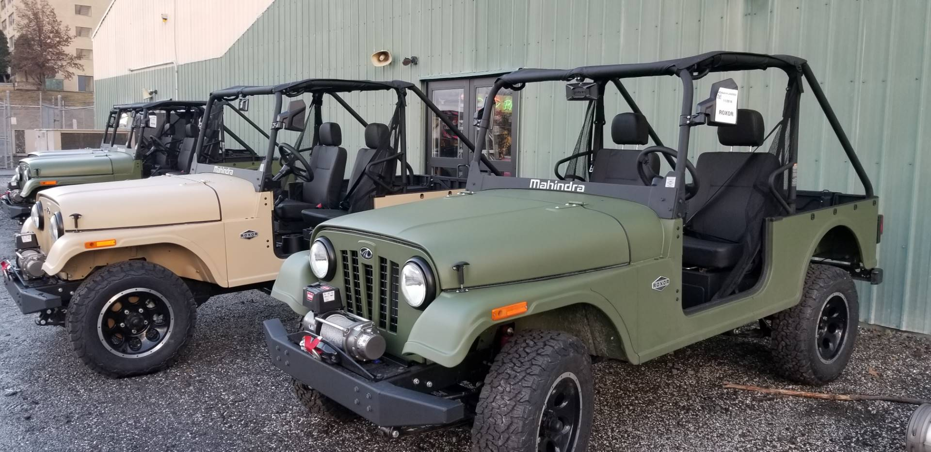 2018 Mahindra Automotive North America ROXOR Classic II in Wilkes Barre, Pennsylvania - Photo 2