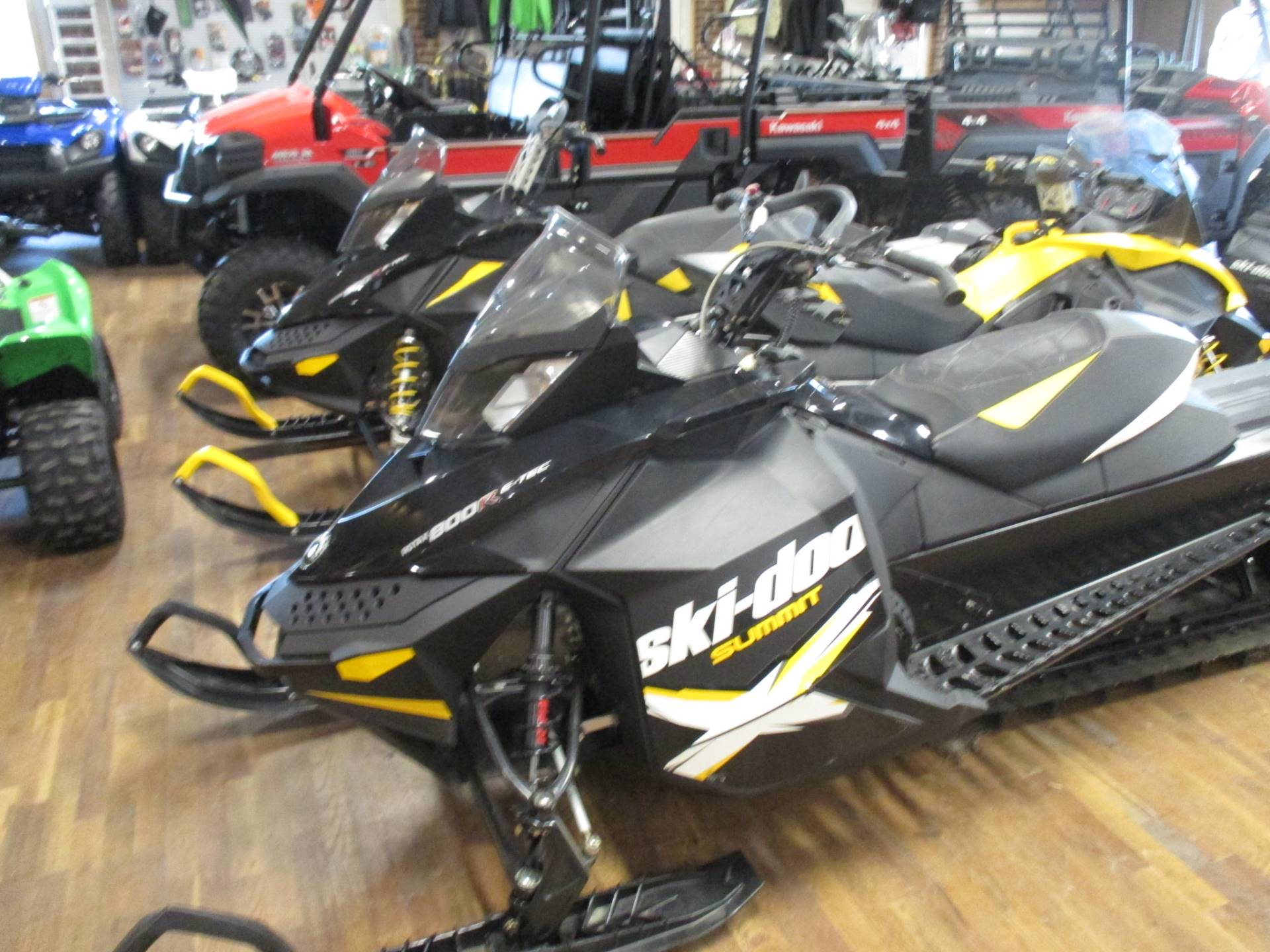 2012 Ski-Doo Summit® X® E-TEC® 800R 146 in Sully, Iowa - Photo 1