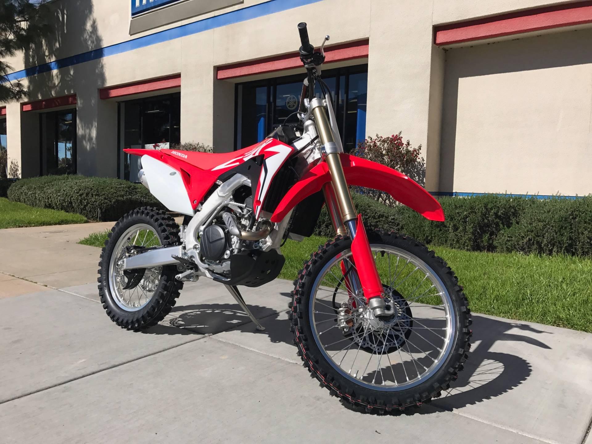 New 2017 honda crf450rx motorcycles in el cajon ca for Honda el cajon service