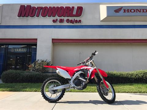 2018 Honda CRF450R in EL Cajon, California