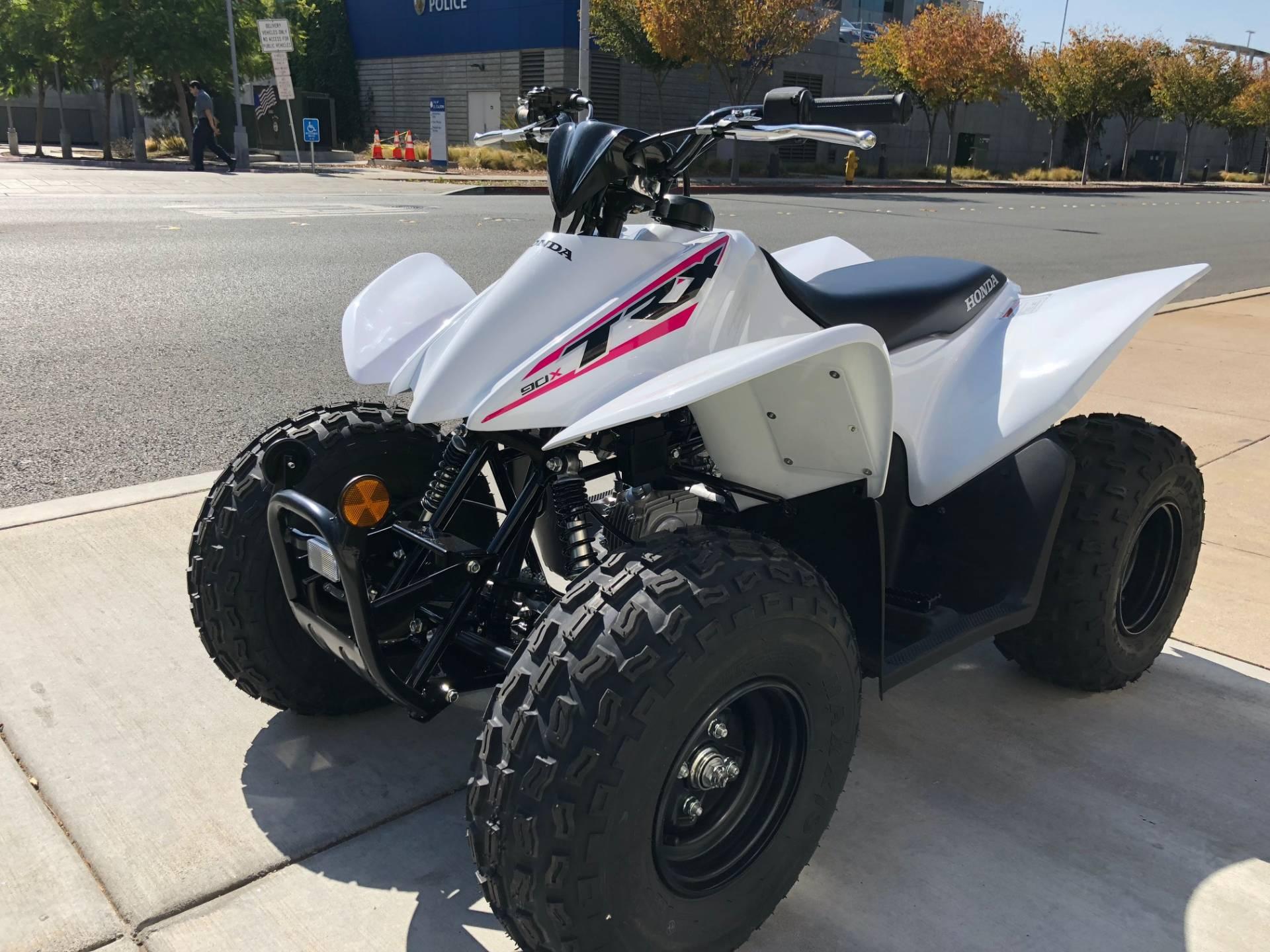 2019 Honda TRX90X 4