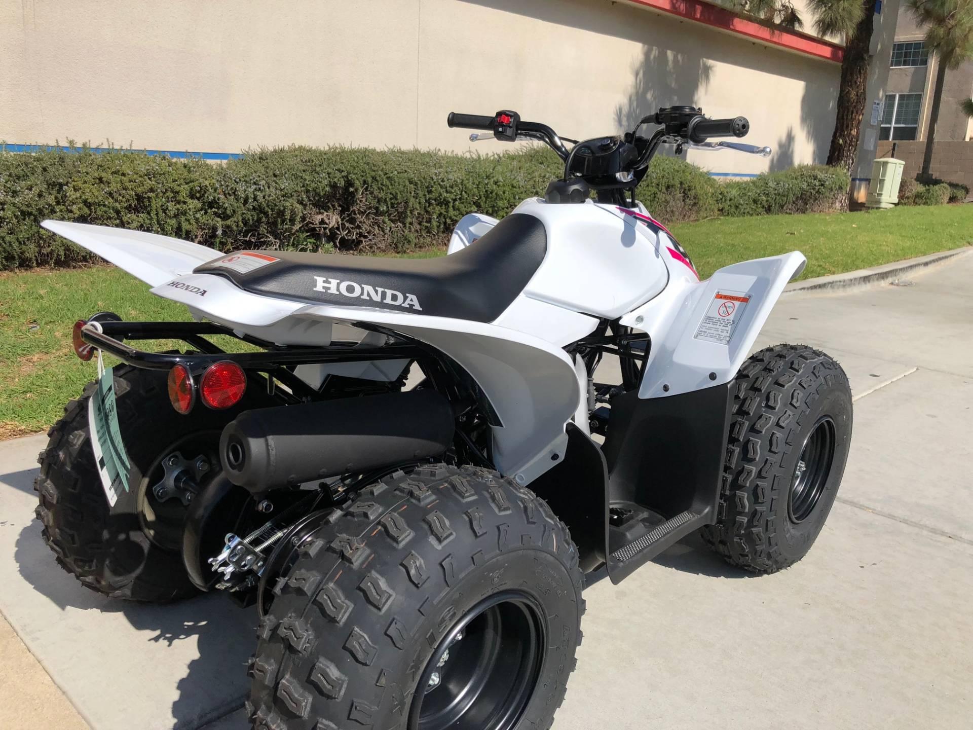 2019 Honda TRX90X 8