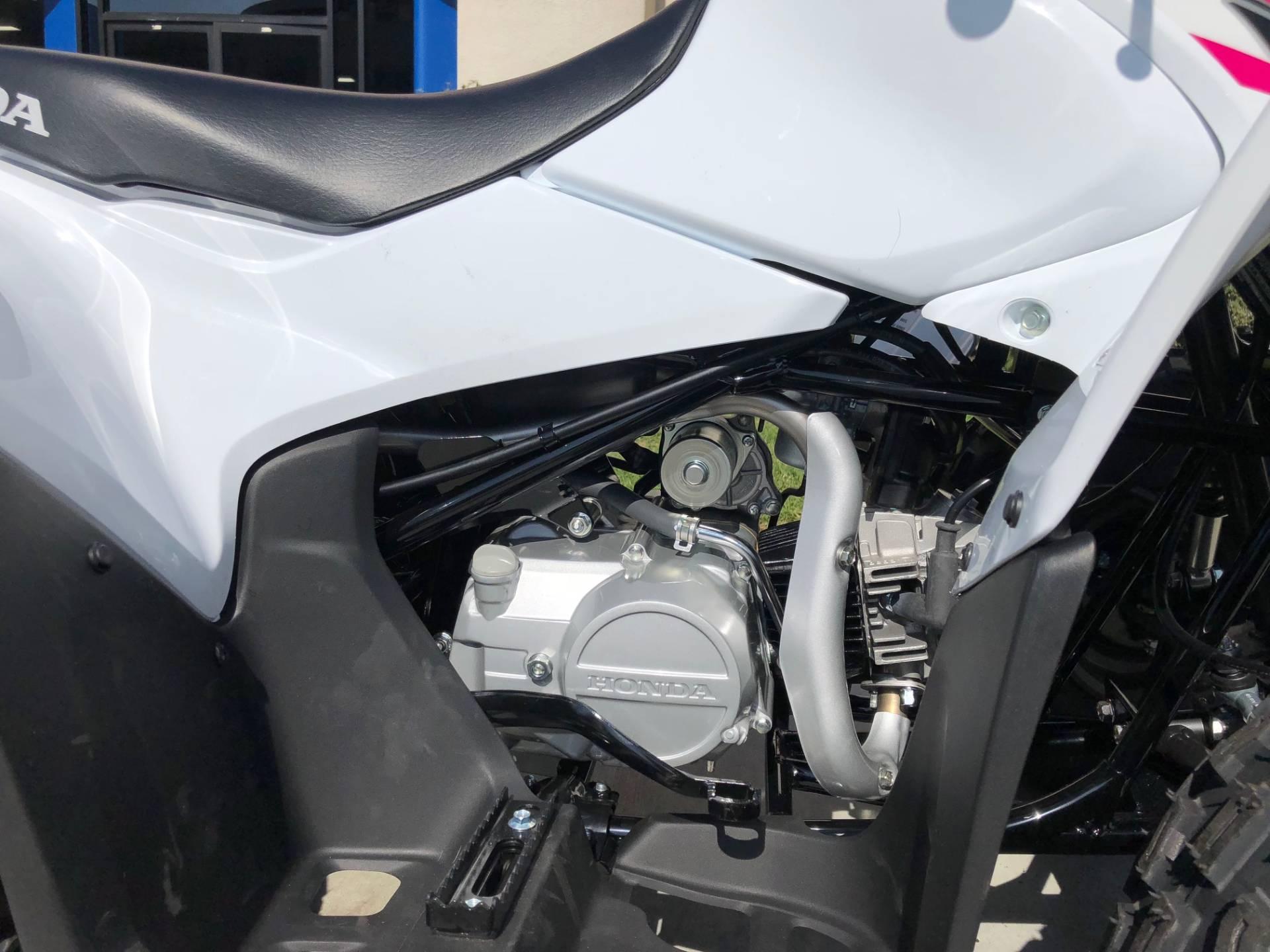 2019 Honda TRX90X 9