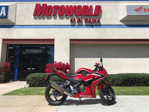2017 Honda CBR300R in EL Cajon, California