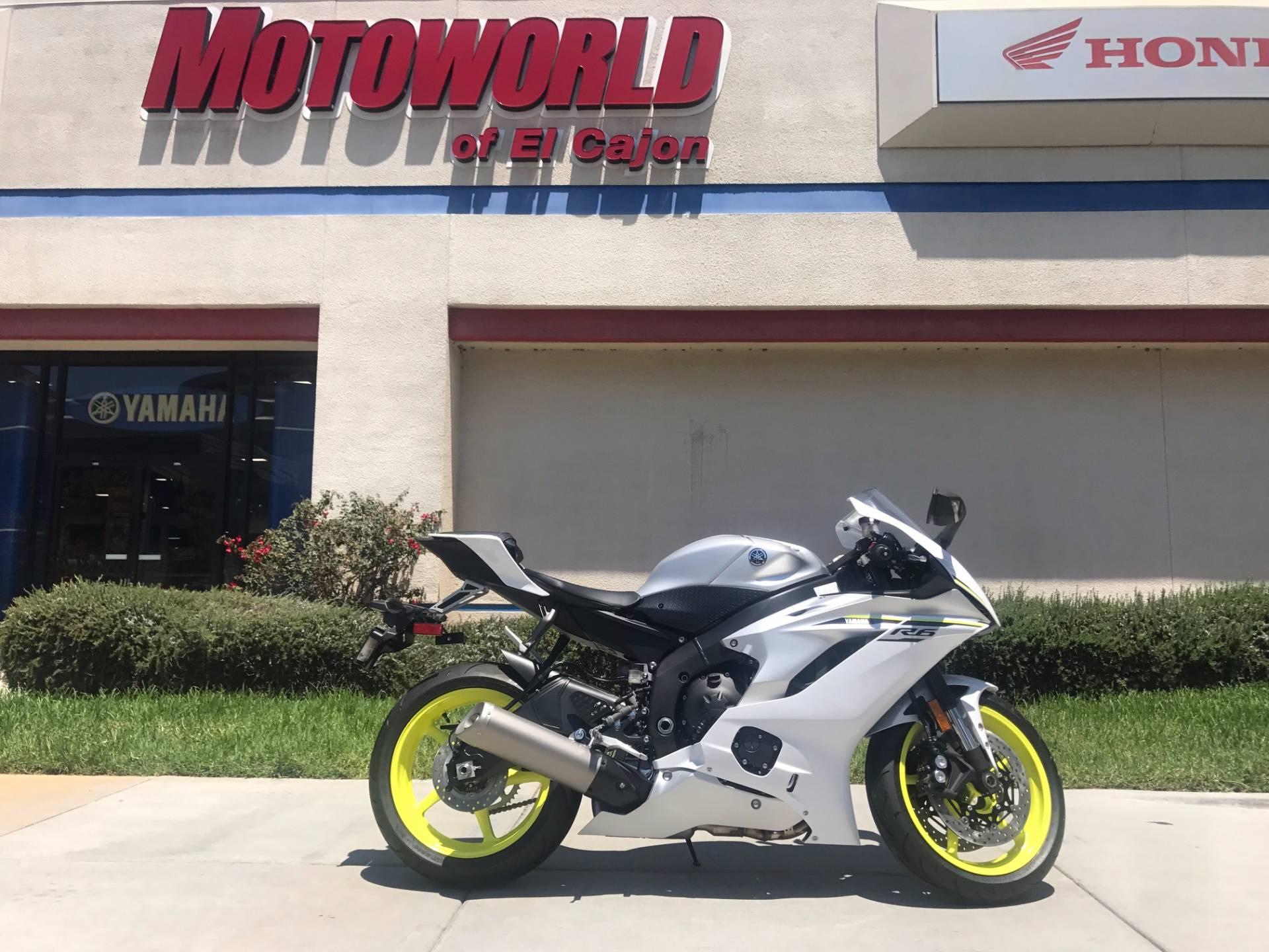 2017 Yamaha YZF-R6 for sale 23493