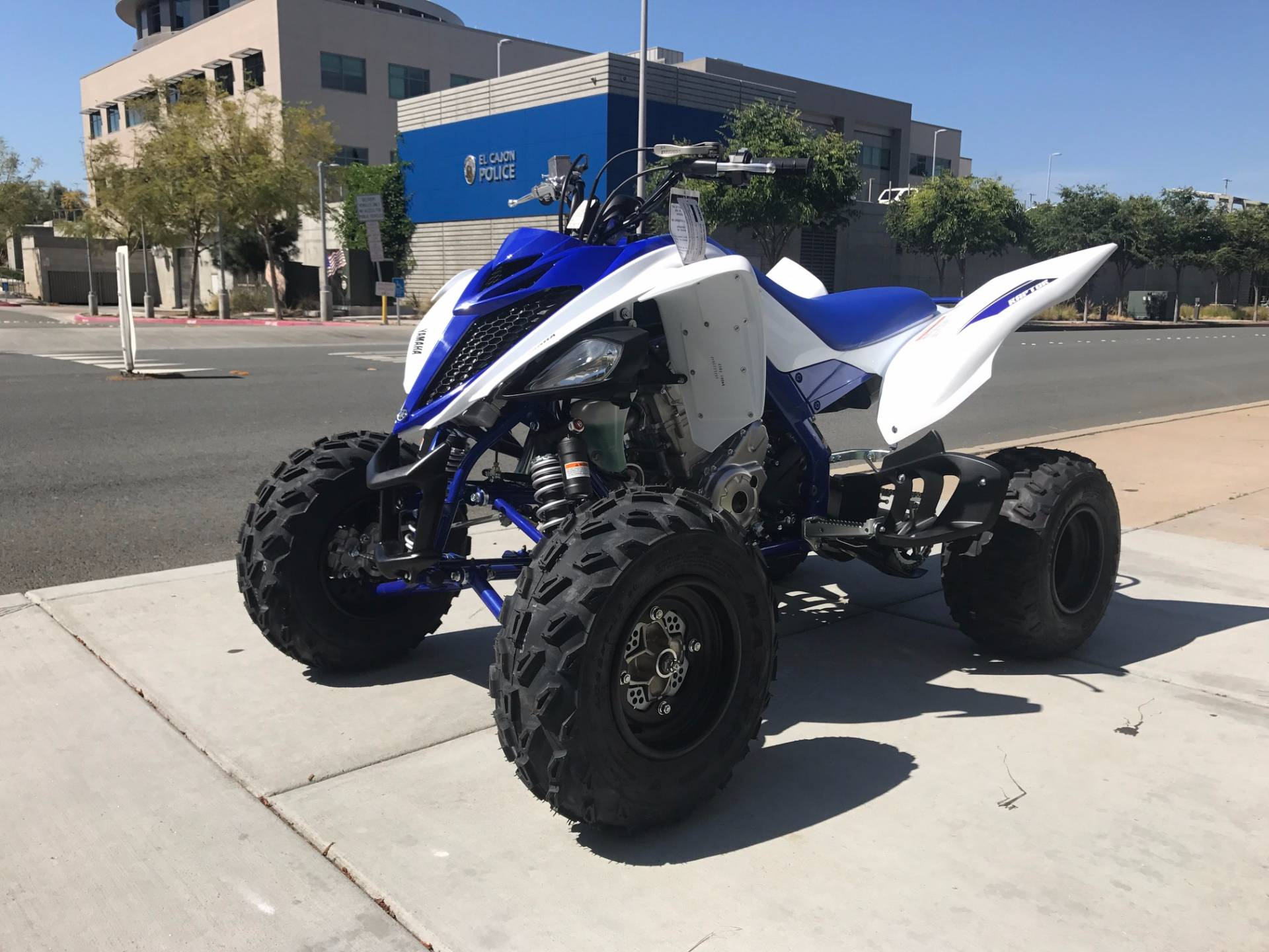 2017 Yamaha Raptor 700R 4