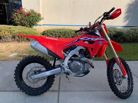 2021 Honda CRF450RX in EL Cajon, California - Photo 8