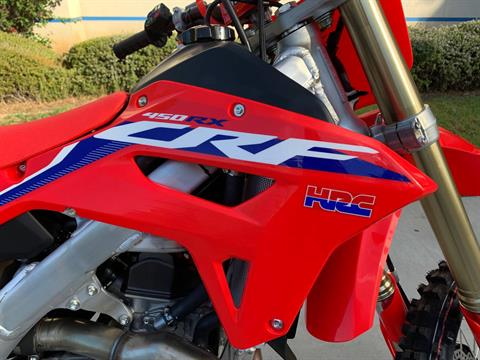 2021 Honda CRF450RX in EL Cajon, California - Photo 10