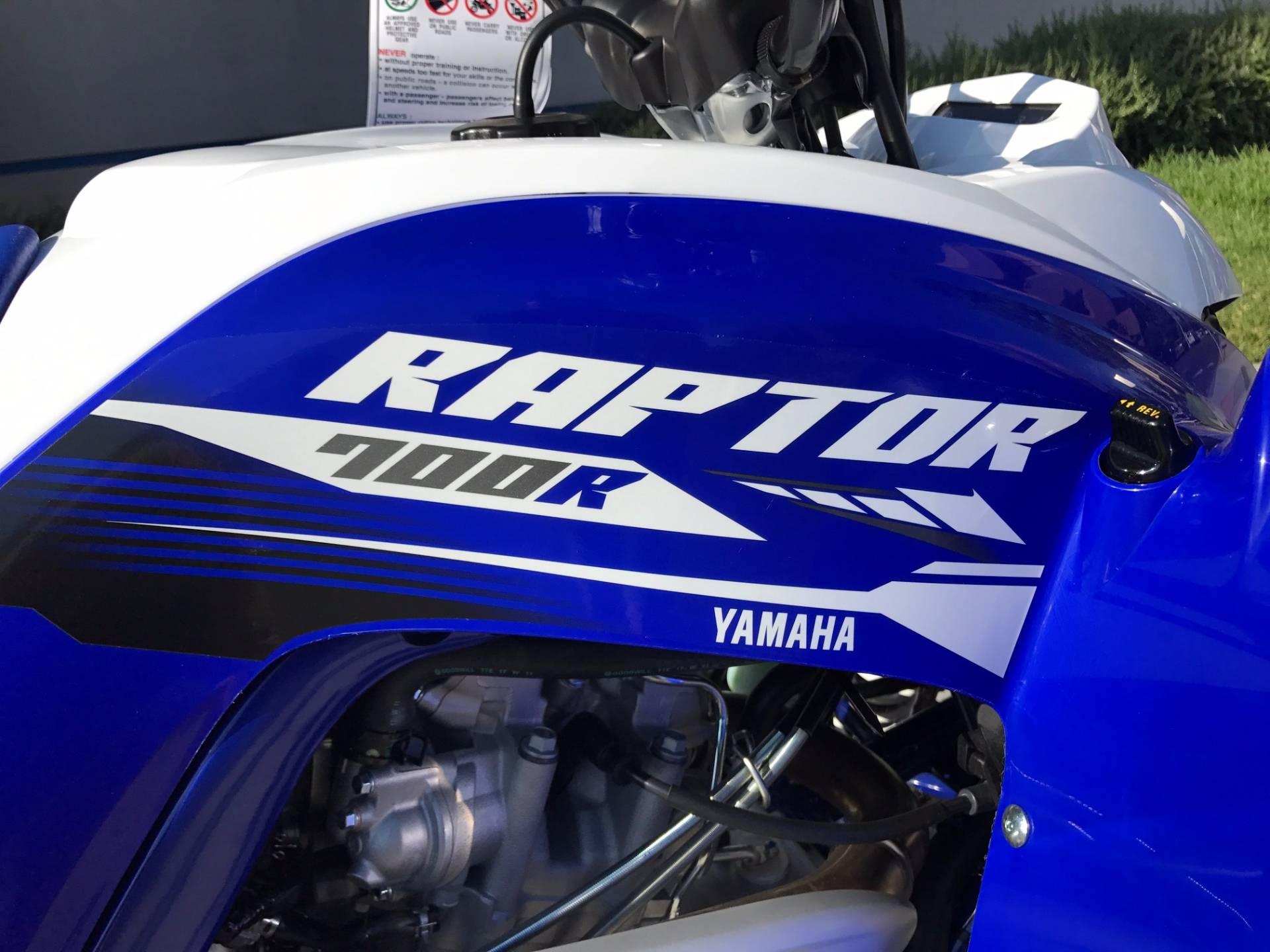 2018 Yamaha Raptor 700R 12