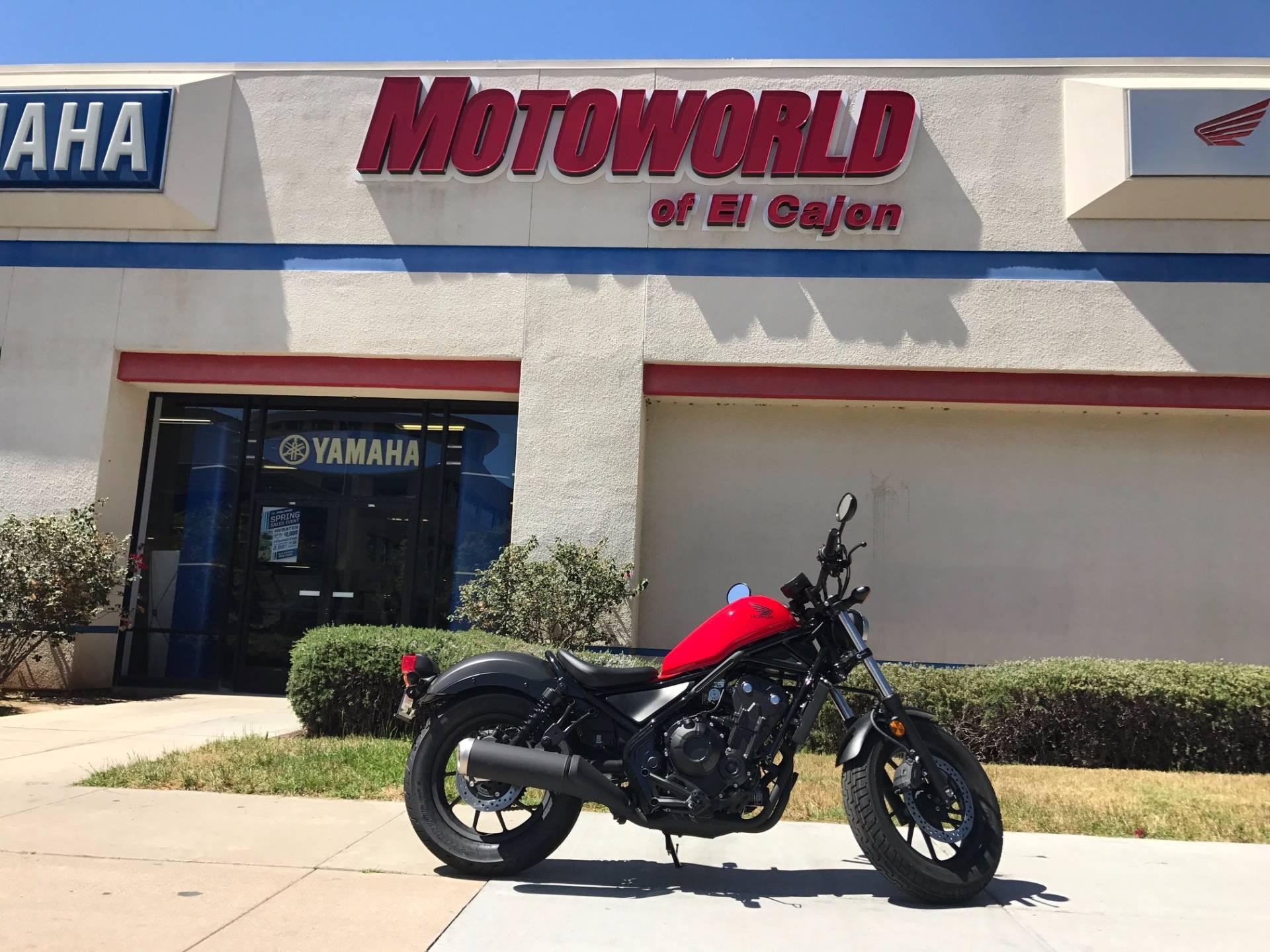 2017 Honda Rebel 500 In EL Cajon, California