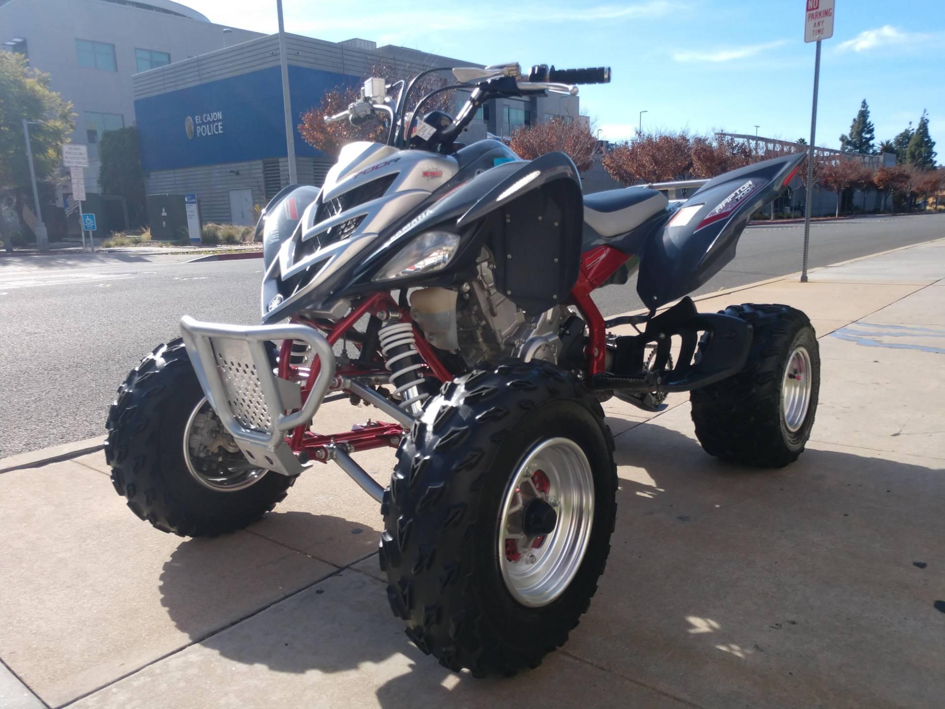 2007 Yamaha Raptor 700R 4