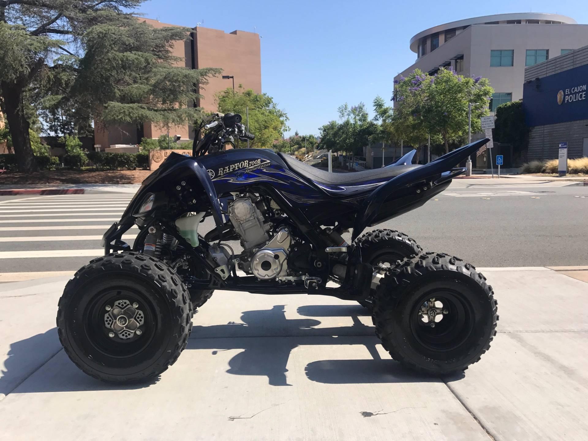 2014 Yamaha Raptor 700R SE 5