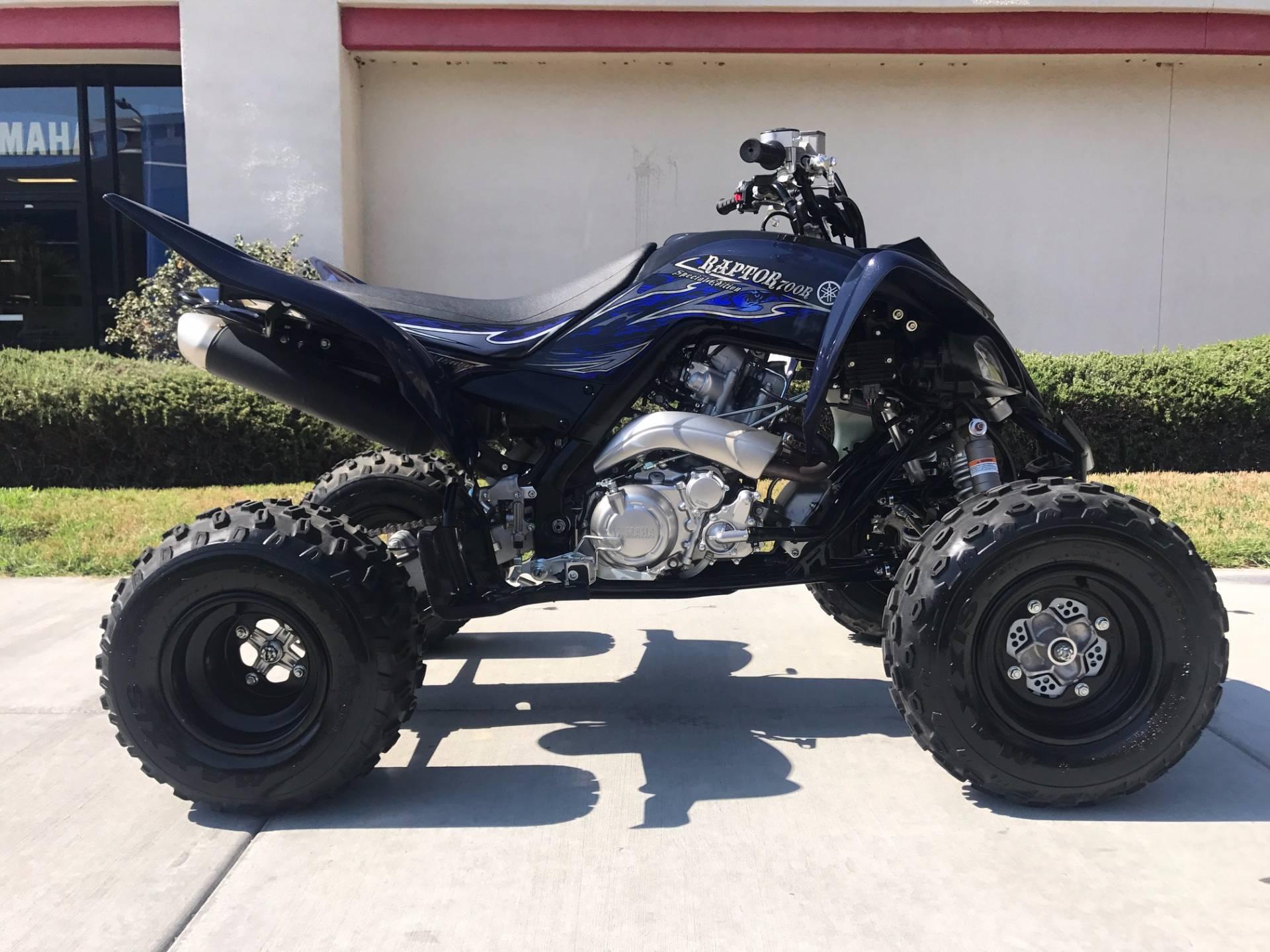 2014 Yamaha Raptor 700R SE 9