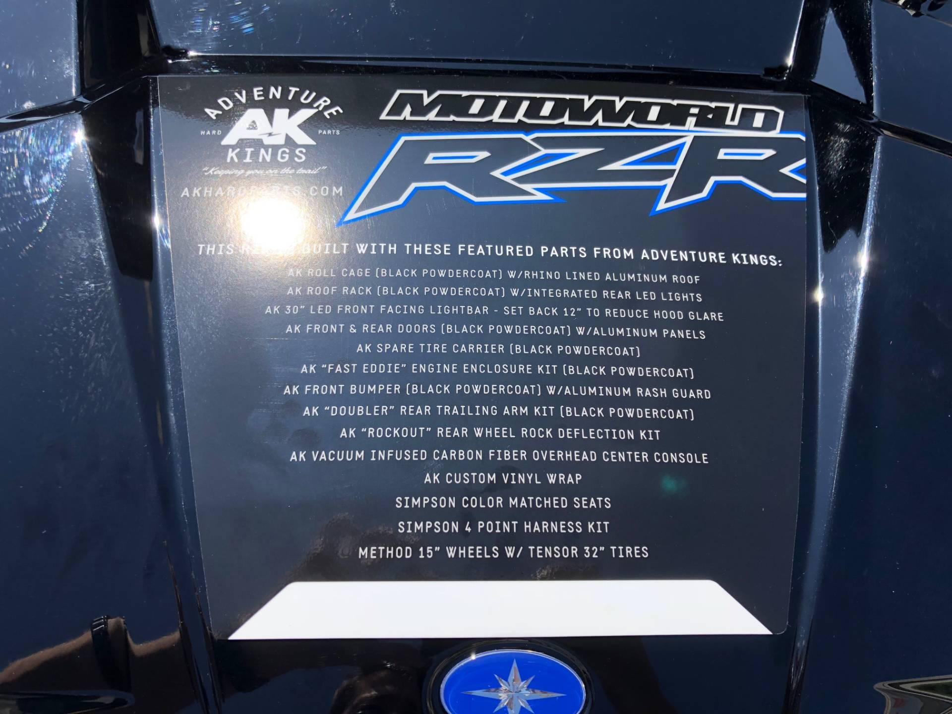 2018 Polaris RZR XP 4 Turbo EPS 5