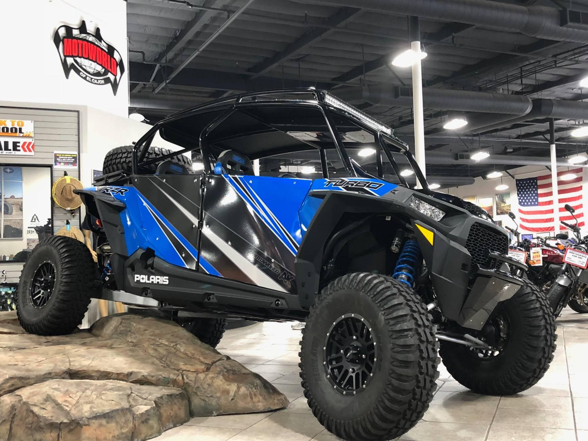 2018 Polaris RZR XP 4 Turbo EPS 1
