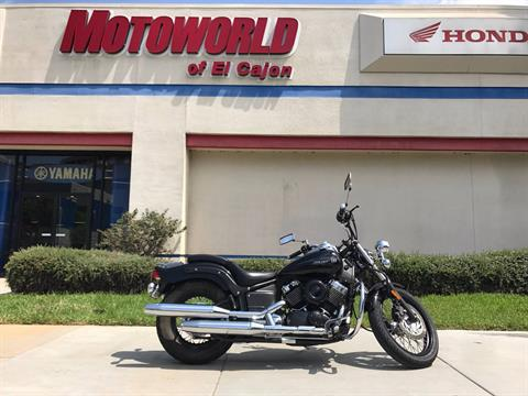 2009 Yamaha V Star 650 Midnight  Custom in EL Cajon, California