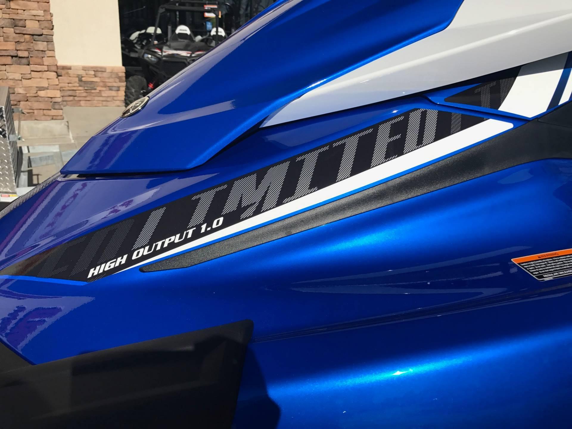 2017 Yamaha VX Limited 6