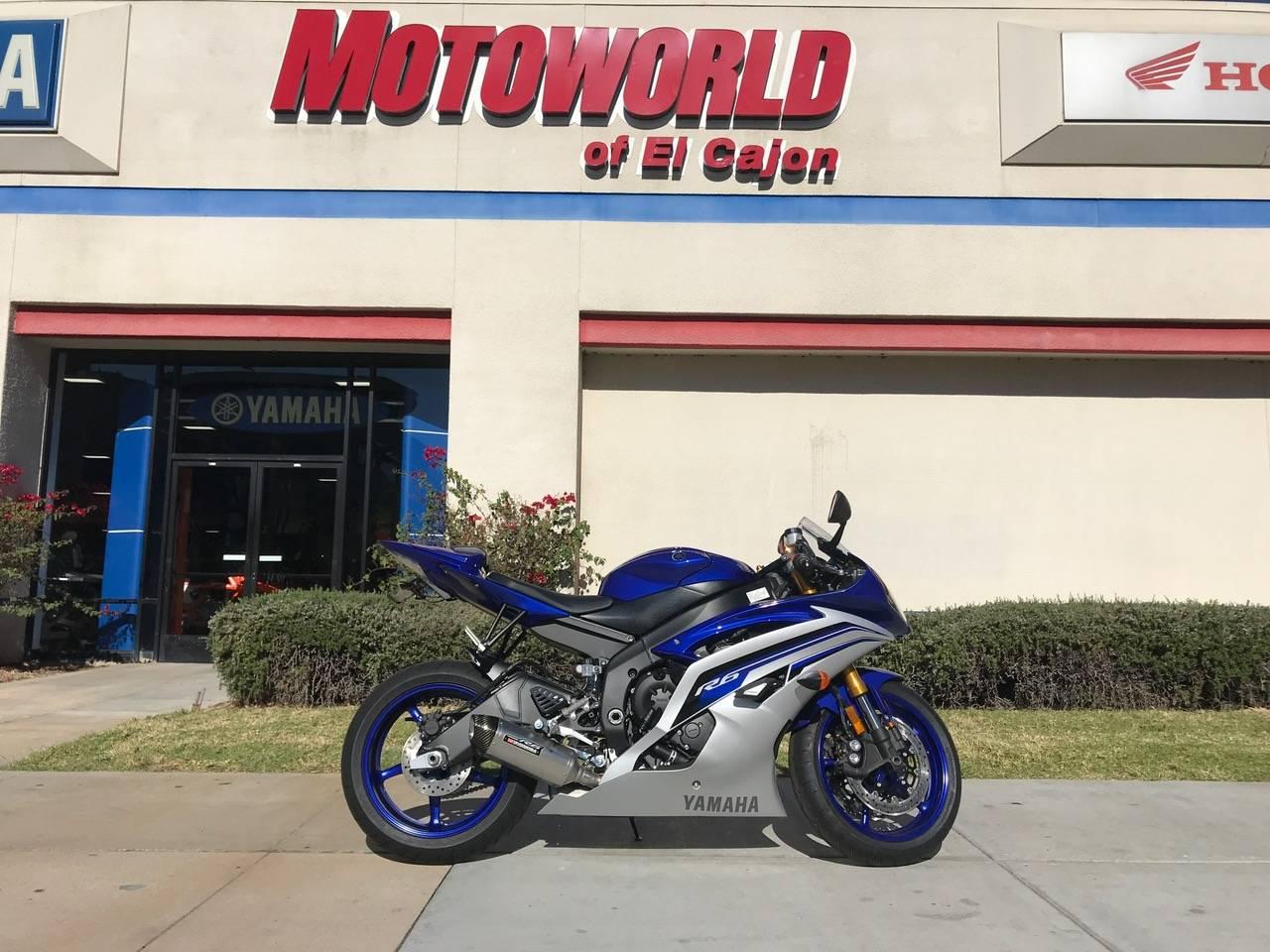 2016 Yamaha YZF-R6 for sale 132536